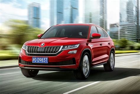 Skoda Kodiaq GT unveiled, new coupe SUV for China ...