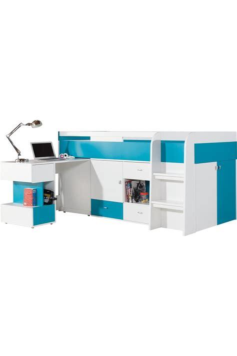 lit sur lev avec bureau lit gigogne avec bureau lit mezzanine quarr avec bureau
