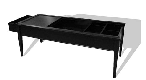 hidden compartment coffee table secret compartments in coffee table stashvault
