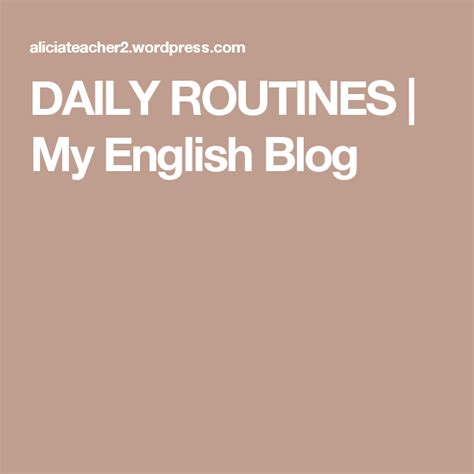 daily routines  images daily routine esl