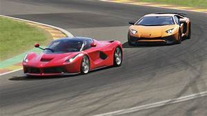 Ferrari Vs Lamborghini : battle lamborghini aventador sv vs ferrari laferrari racing at spa francorchamps youtube ~ Medecine-chirurgie-esthetiques.com Avis de Voitures