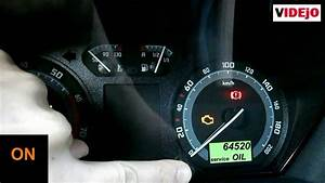 How To Reset Service Light On Skoda Fabia