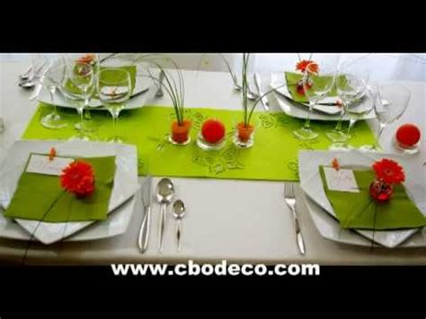 d 233 coration de table printemps by cbodeco s 233 bastien lhoste