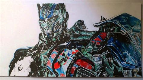 speed drawing picture draw optimus prime age