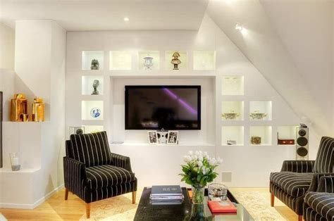 tastefully decorated apartment  open floor plan
