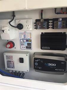 Camper-trailer-wiring-panel