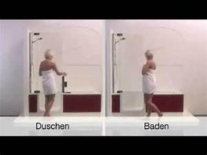 Bad Dusche Kombination : kleines bad duschen baden perfekt twinline 2 von artweger niedriger einstieg platz ~ Indierocktalk.com Haus und Dekorationen
