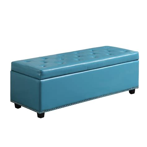 madison park fpf18 0143 shandra bench storage ottoman amazon com simpli home hamilton rectangular storage