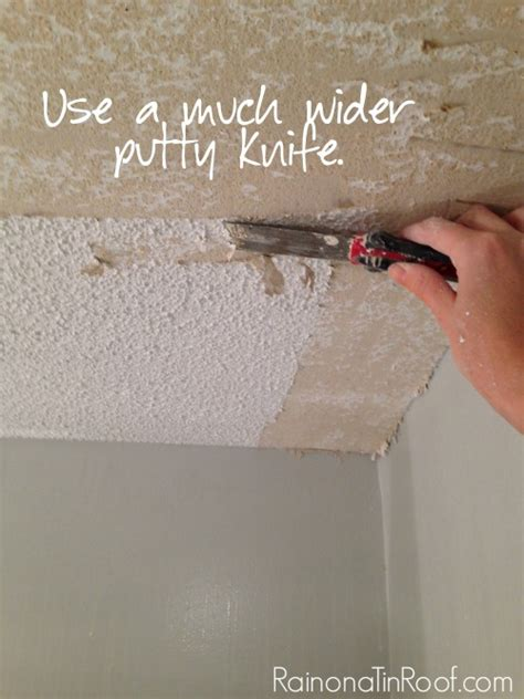 Remove Popcorn Ceilings by How And How Not To Remove Popcorn Ceilings