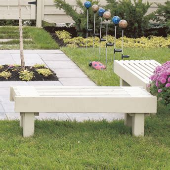 construire  banc de jardin plans de construction rona