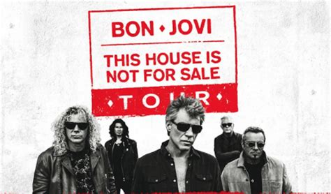 Bon Jovi Confirm 'this House Is Not For Sale' On Upcoming