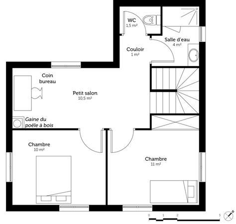 plan maison etage 4 chambres plan maison etage 4 chambres 1 bureau excellent cette