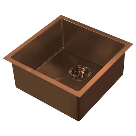 copper sink with stainless steel appliances whitehaus collection noah plus dual mount stainless steel