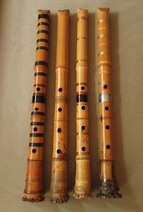 The Shakuhachi Flute Is A Traditional Japanese Instrument