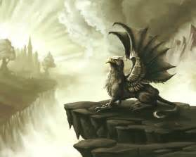 Griffin Mythical Creature Art
