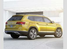 New VW Atlas Is the First Ever 7 Seat SUV of the Brand