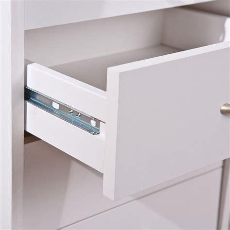 bureau blanc tiroir caisson de bureau 4 tiroirs quot quot blanc