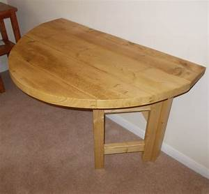 Rustic Space Saving Drop Leaf Breakfast Bar/Kitchen Table