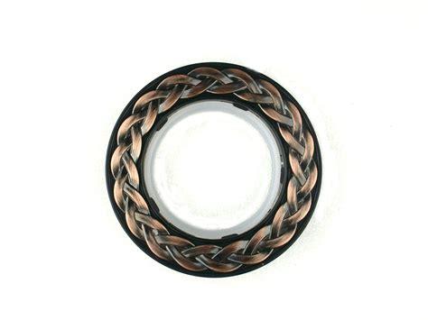 set of 8 vintage decorative plastic rings for eyelet