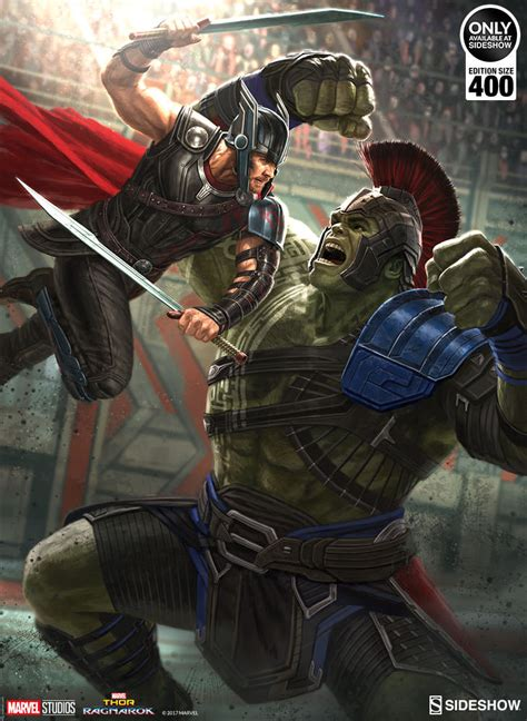 thor ragnarok fan event it 39 s main event time with the thor ragnarok fine art