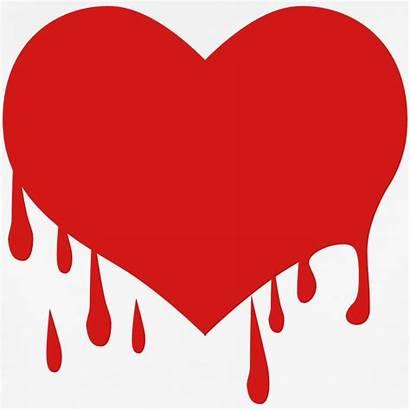 Bleeding Heart Clipart Hearts Broken Blood Heartbreak