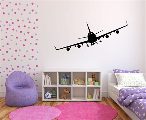 Wandtattoo Kinderzimmer Flugzeug by Flugzeug Als Wandtattoo Kinderzimmer Aufkleber Wandtattoos