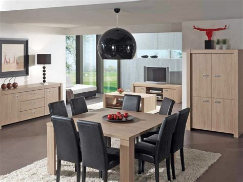 salle  manger complete conforama table carree meuble