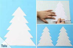 Weihnachtsbaum Basteln Papier : tannenbaum basteln aus papier anleitung und ideen ~ A.2002-acura-tl-radio.info Haus und Dekorationen