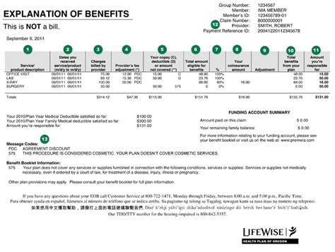 Learn how to better understand health insurance eob's, also known as an explanation of benefits that is generated by your plan administrator. Member Understanding Your EOB   Member   LifeWise Health ...