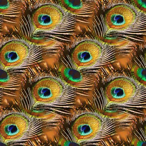 Peacock Feather Upholstery Fabric by Peacock Feather In Copper Fabric Joanmclemore Spoonflower