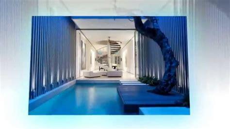 video desain rumah minimalis  kolam renang youtube