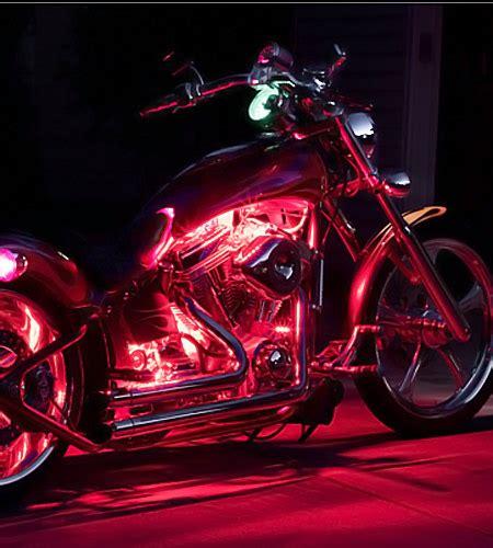 Led Motorcycle Lights by Motorcycle Engine Led Lighting Kit Single Color 12v Led