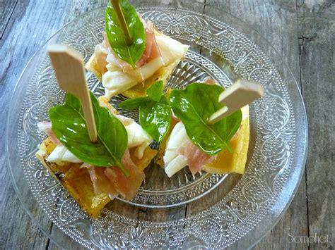 d駻ouleur cuisine brochettes apéritives gaufres croustillantes cabécou et jambon cru la fourchette gourmande