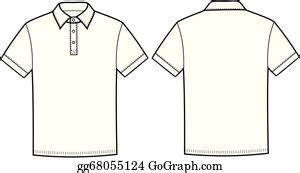 Polo T Shirt Clip Art - Royalty Free - GoGraph