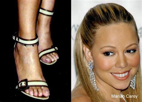 hollywood star feet mariah carey feet