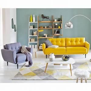 deco bureau gris et jaune With deco chambre gris et jaune
