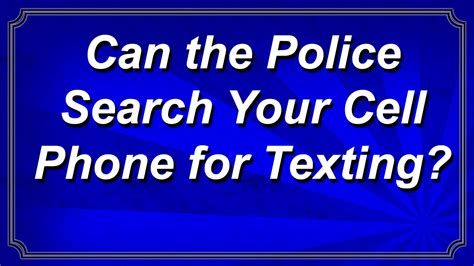 can the search your phone can the search your cell phone for texting