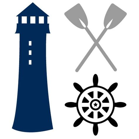 Use by itself or copy and mirror it for a toast. Free SVG Files   SVG, PNG, DXF, EPS   Lighthouse Nautical ...