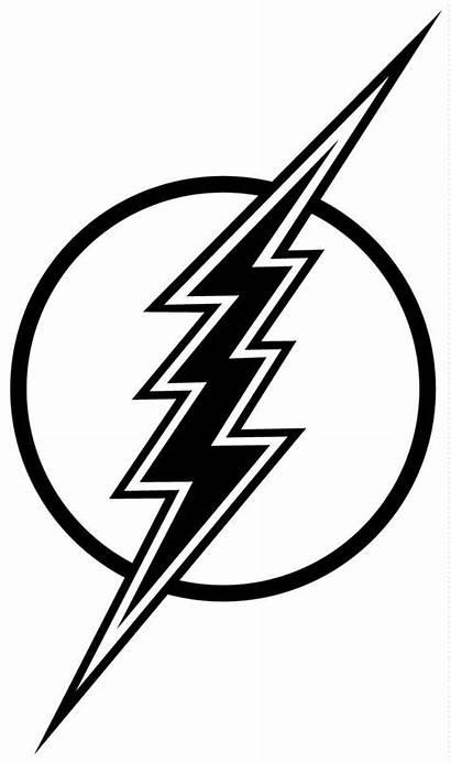 Lightning Bolt Clip Clipart Coloring Lighting Flash