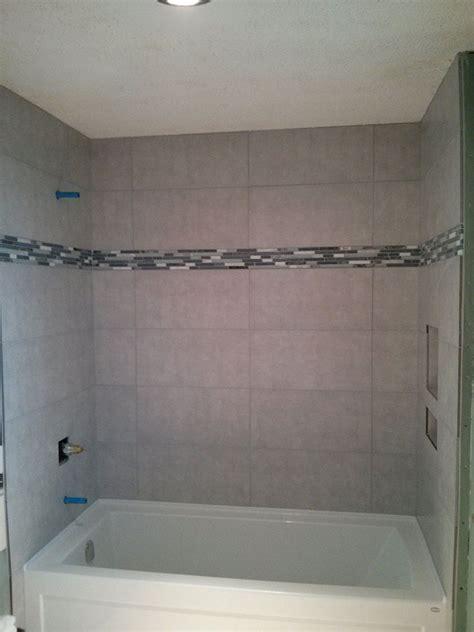 12x24 tile in bathroom