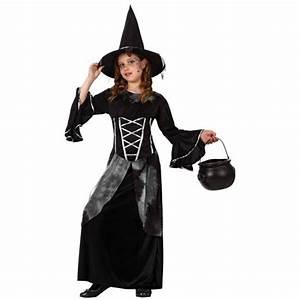 Déguisement Enfant Halloween : d guisement sorci re noire enfant la f e du jouet deguisement halloween fille ~ Melissatoandfro.com Idées de Décoration