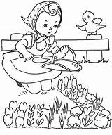Coloring Pages Little Embroidery Paint Books Garden Favorite Patterns Qisforquilter Gardening Flickr Children Hand Painted Quilter Alice Colouring Stoddard Mary sketch template