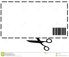 blank coupon stock photography image 8483602