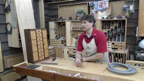 jewelry chest birds eye maple black walnut  wood