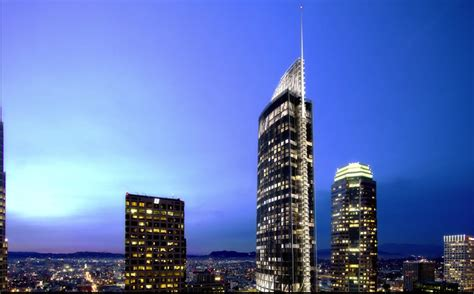 wilshire grand center reaches  heights connect media