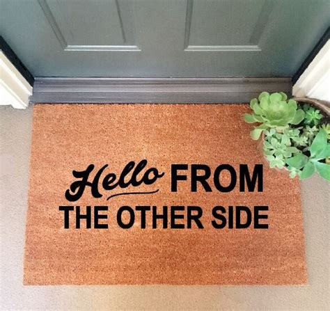 doormats and more doormats that show your personality 2015