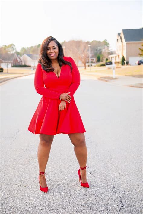 fashion  figure  red dress giveaway  ways