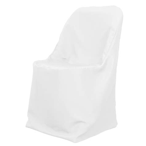 folding chair cover white for weddings and special events