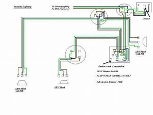 Ceiling Fan With Light Wiring Diagram One Switch Security