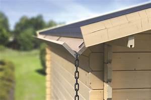 Dachrinne Für Gartenhaus : neue dachrinnen von karibu holz ~ Frokenaadalensverden.com Haus und Dekorationen